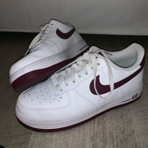 NEW Nike Air Force 1 - plum size 8.5